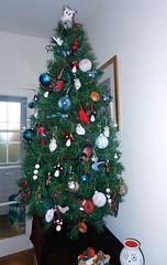 christmas tree 2012 (adore62) Tags: christmas felted christmastree xmastree 2012 christmasornaments christmastreedecorations feltbird christmasfeltdecorations feltedfido
