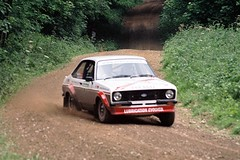 Lepley / Bass - Escort RS MkII- Watchwood 2 - Dukeries Rally 2012 (74Mex) Tags: 2 bass rally rs escort 2012 mkii dukeries lepley watchwood