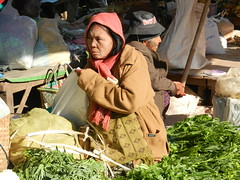 Kalaw (simo2582) Tags: people asian asia burmese shanstate shan birma birmania burma myanmar market kalaw human trade typical hilltribes tribes mountain hillstation village countryside travel reise blick unterwegs world traditional 5daysmarket groceries street woman vegetables