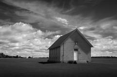 2016-07-16 Michigan Thumb Abandoned Schools and Barns (james.cdevlin) Tags: michigan huroncounty thumb landscape abandon abandoned outdoor field grass school schoolhouse