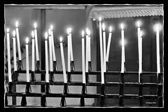 Ein Ort des Gebetes, nicht des Terrors! (Babaou) Tags: frankreich france bormeslesmimosas lalonde2014 sw