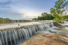 Peaceful flow (lkbuchanan) Tags: slowshutter water flowingwater silkywater sunset sunsetonwater ingramtexas indiancreek lkbuchanan laurabuchananphotography