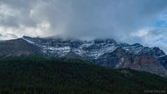 DSC_0058 (Adrian De Lisle) Tags: lakemoraine banffnationalpark banff mountains clouds