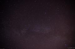 Un punto en el universo (Jaime GF) Tags: stars night sky estrellas cielo noche nocturna nikon d7000 gozn asturias spain