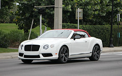 Bentley Continental GTC V8 S (SPV Automotive) Tags: bentley continental gtc v8 s convertible exotic sports car white