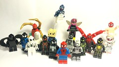 Suits of the Spider 2 (Waffle Copter) Tags: httpswwwflickrcomphotostagscollection lego spiderman bombastic dusk hornet symbiote iron spider astronaut kungfu big time superior fantastic future foundation armored