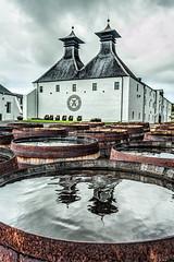 Ardbeg Distillery, Islay (Rachel Dunsdon) Tags: distillery ardbeg islay whisky barrels water reflections