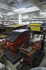 GMRC barrows, sledge and carriages. (route9autos.co.uk) Tags: glasgow museum resource centre gmrc transport truck trams train model ship hull treasure albion caledonian railway display historic scotland nitshill collection