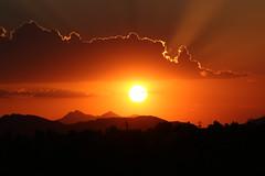 Another Tucson Sunset (lars hammar) Tags: tucson arizona sunset mountains