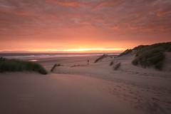 Shell Island Sun Set (aevo69) Tags: andy evans andyevanscreations sunset shell island beach sea ocean sun rise grass sand dunes uk weather clouds peaceful warm
