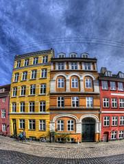 Wildersgade 24 & 22 (KonHenrik) Tags: d5000 danmark denmark copenhagen kbenhavn christianshavn hdr 2015 samyang8mm