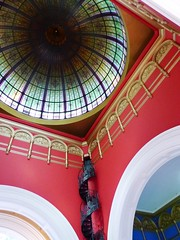 QVB Cupola and Colour (Snuva) Tags: qvb queenvictoriabuilding nsw sydney australia