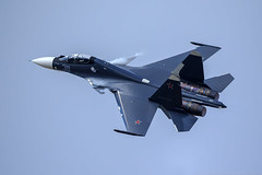 Su-30SM (RealHokum) Tags: maks2015 russianairforce zhukovsky airshow aircraft airplane aviasalon fighter ef200400 sukhoi su30sm flanker