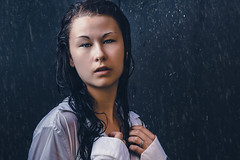 Rain Goddes (davidfillion) Tags: ifttt david fillion productions brielle de beauvoir fashion hamont hamilton model portrait rain studio water wet soaked waterdrop brielledebeauvoir davidfillionproductions
