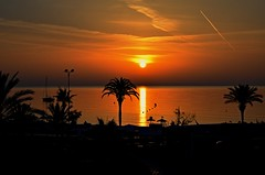 Cala Millor sunset (J.Heinrich photography) Tags: cala millor sunrise spain see summer