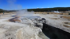 Guysers, Yellowstone Park, Wyoming, USA (GOD WEISFLOK) Tags: montana wyoming usa yellowstonepark gordweisflock weisflock guyser hot spring