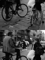 [La Mia Citt][Pedala] (Urca) Tags: milano italia 2016 bicicletta pedalare ciclista ritrattostradale portrait dittico bike biycle nikondigitale mir bianoenero blackandwhite bn bw 88972