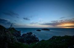 Llanddwyn Island sunset (ollietat) Tags: anglesey sunset nikon d800 wales llanddwyn long exposure ocean sea water neutral density filter clouds motion blur