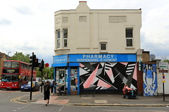 mark mclure (Luna Park) Tags: london walthamstow woodstreetwalls streetart mural production lunapark markmcclure
