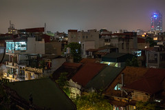 oldtown roofs (grapfapan) Tags: cityscape city urban night rooftop oldtown vietnam hanoi