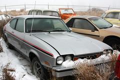 Capri II Ghia (dave_7) Tags: classic ford car silver capri mercury ii ghia capriii