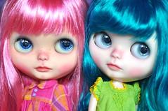 My 2 Fantasy Hair Girls ♥♥♥ *Melody & Lil' Miss Pickles**