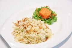 ข้าวผัดปลาเค็มพริกสด [nam restaurant bangkok]