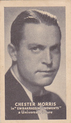 CHESTER MORRIS - 1934 GOLDEN GRAIN motion picture MOVIE star/ACTOR tobacco card (addie65) Tags: 1930s drama 1934 classicactor classicfilm fanphoto classichollywood tobaccocard fancard goldengrain chestermorris embarrasingmoments universalinternational deceasedactor