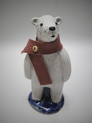 polar bear (danahaneunjeong) Tags: bear ceramic polarbear polar