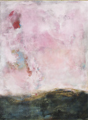 Amanecer - Mixed Media on Canvas by Anahi DeCanio (MY PINK SOAPBOX) Tags: pink abstract art painting artwork arte abstracto astratto pintura abstractpainting mixedmediaart canvasart womanartist abstraite womanpainter anahidecanio anahidecanioartwork pintorauruguaya artyzenstudios