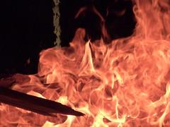Bonfire Night (Stono) Tags: fire suffolk fireworks guyfawkes flame funfair ipswich bonfirenight christchurchpark
