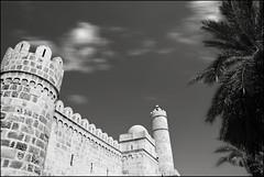 The Ribat (Aimless Alliterations) Tags: bw tunisia muslim arab sousse fortress ribat nikond80 sigma18200mmos