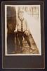 James D. Watson, Sr. posing with baseball equipment, c. 1910 (CSHL Archives) Tags: portraits cshl jamesdwatson moderngeneticsanditsfoundations