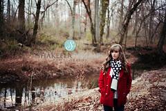 7web (Shakeela_Phillips) Tags: red orange fall senior girl beautiful creek canon woods pretty outdoor ky 50mm18 5dmarkii styledsession issacshelbyhouse