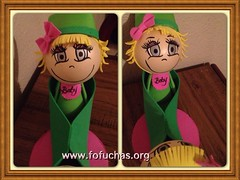 Peapod fofuchas (FofuchasHomemadeDolls) Tags: baby anime angel twins crafts babydoll peapod handmadedoll fofucho foami peainapod birthdaydecoration fofucha fofuchas 3ddoll birthdaycenterpiece