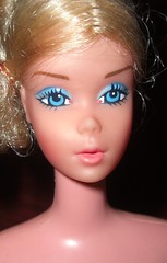 1970s Ballerina Barbie (farmspeedracer) Tags: ballet woman girl turn vintage dance barbie blonde 70s 1970s seventies tutu collector playline twistn