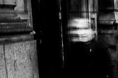 (Matt Obrey) Tags: street blackandwhite man black monochrome birmingham shadows flash streetphotography x100 birminghamstreet fujix100