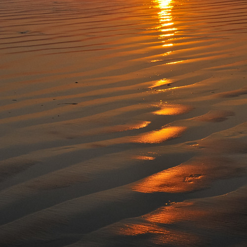 Orange sand waves