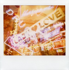 Hollywood Neon 1 (tobysx70) Tags: california ca city costumes toby love film sign shop lady night project polaroid toys la los exposure neon boulevard nocturnal adult image angeles smoke hurricane illuminated system tip hollywood drugs multiple 1200 lit hancock spectra blvd impossible the boardners softtone of theimpossibleproject tobyhancock