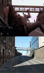Trainspotting then and now 4 (route9autos.co.uk) Tags: film movie edinburgh glasgow 1996 danny present then now ewan past scenes trainspotting locations boyle mcgregor