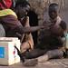 NIDs volunteer Haile Dooch administers Polio Vaccine-Hamer District