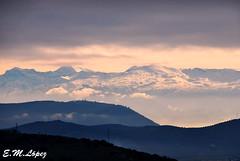 Sierra Nevada  (serie) (E.M.Lpez) Tags: sky mountain snow landscape andaluca nieve paisaje noviembre cielo granada nubes otoo montaa sierranevada fro jan 2012 alcallareal