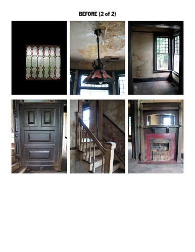Historic House Stripped of Interior History