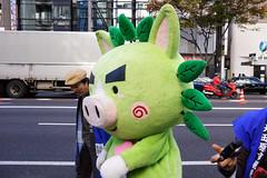 DSC04288.jpg (ntstnori) Tags: street tokyo ginza character staff  chuo 2012 yuruchara