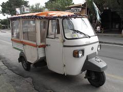 I particolari taxi di Ischia (sangiopanza2000) Tags: italy italia taxi ape ischia sangiopanza mezzoditrasporto
