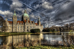 High Dynamic Range (Michis Bilder) Tags: germany hannover rathaus hdr