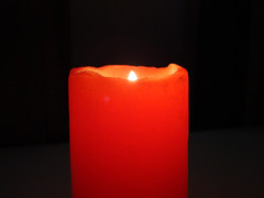 Candle (Mohanad Alsous  ) Tags: light red dark fire candle  mohanad    alous
