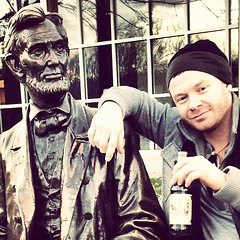 """Posted w Abe.. I only surround myself with the real.. #gettysburg #abelincoln • <a style=""""font-size:0.8em;"""" href=""""https://www.flickr.com/photos/62467064@N06/8226710861/"""" target=""""_blank"""">View on Flickr</a>"""