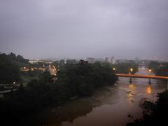 Itapocu river (Carlos Ebert) Tags: city urban sunrise river cityscape santacatarina itapocu