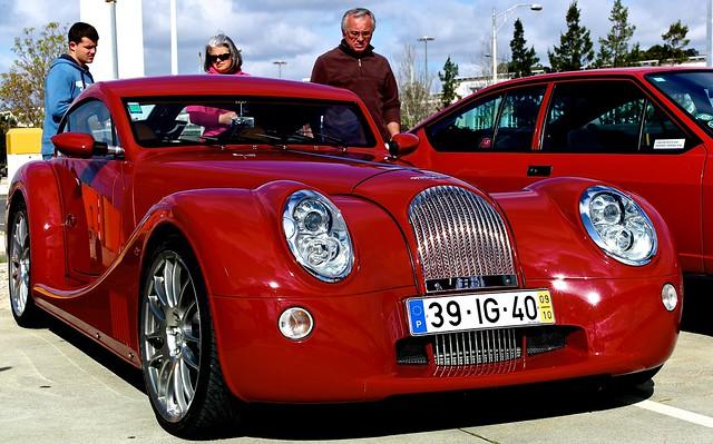 red car lisboa lisbon vehicles belem coche morgan automobiles supercars autoglamma worldcars morganaerocoupe